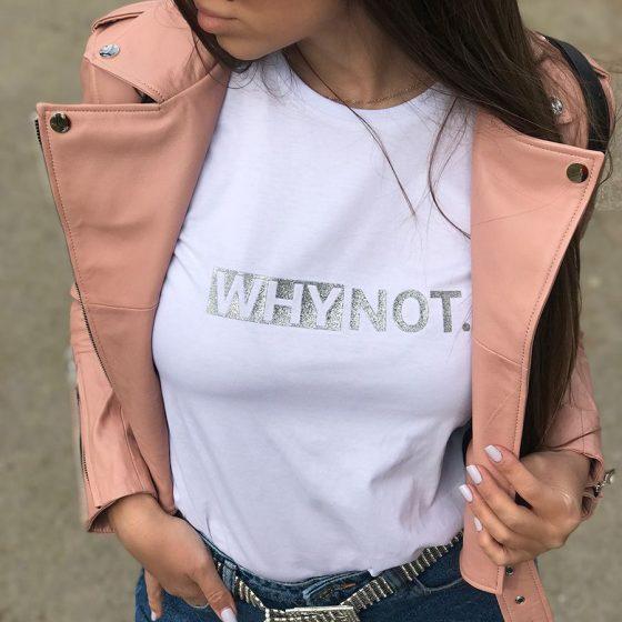 Basic Silver T Shirt