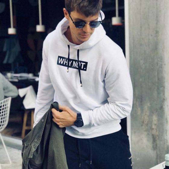 basic man hoodie